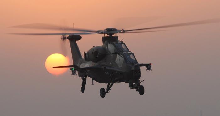 俄媒披露武直-10前世今生      然而,直升机总体设计室内却是另