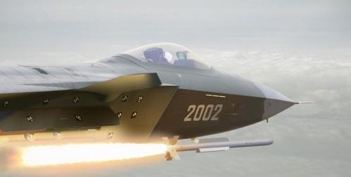 网友绘制的2002号歼20空射导弹效果图.图片