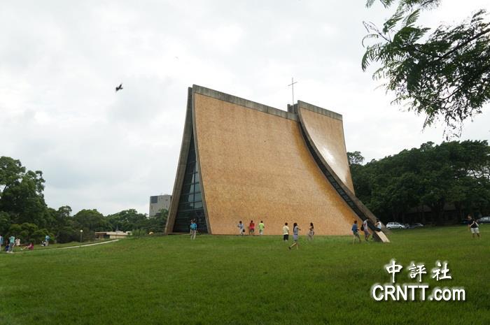 东海教堂的双曲面薄壳结构