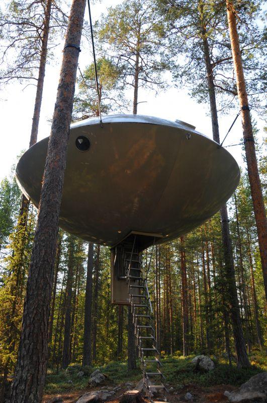 瑞典的树屋度假酒店(组图)