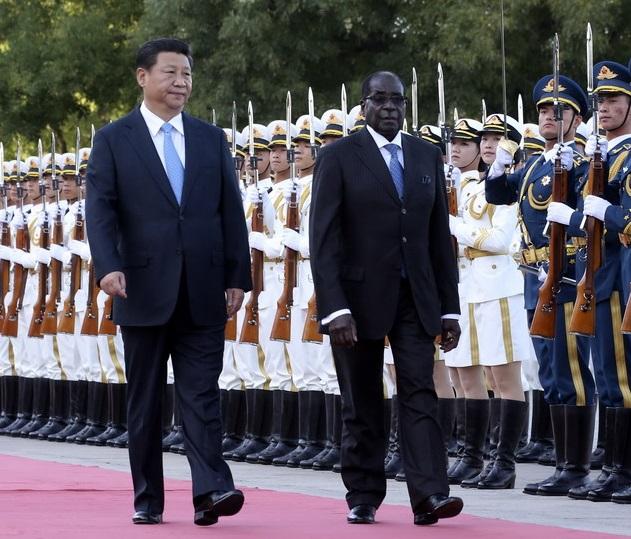 津巴布韦总统穆加贝访京颇受外界关注