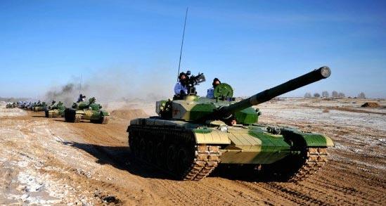 资料图:解放军99式新型坦克.-中国神秘新型坦克曝光 外形硬气速度