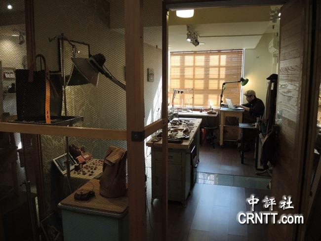 工坊内有16间文创工作室.(中评社 杨清雄摄)图片