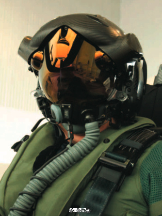 f35战机专用科幻造型头盔曝光(组图)