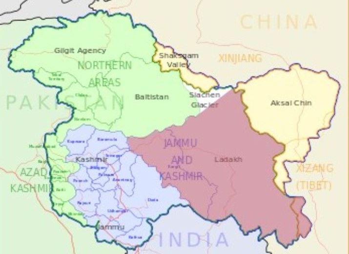 印控克什米尔地区_黄博宁编译报道)拉达克地区是印控克什米尔的一部分,位於青藏高原的