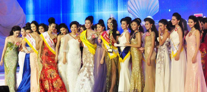 中国选美大赛_中国评论新闻:越南小姐选美大赛落幕(组图)