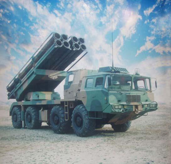 """精度火力超导弹:中国出口火箭炮""""丧病""""依旧图片"""