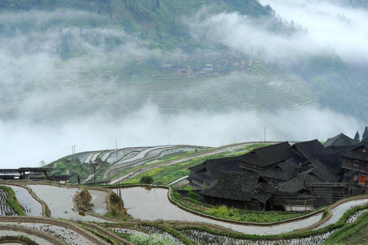 贵州西南山区风景