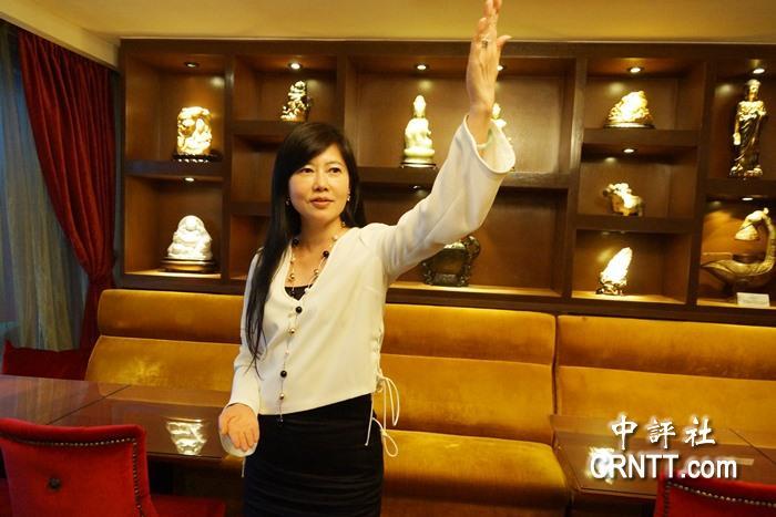 藍委陳學聖女助理游文玫的藝品拍賣人生