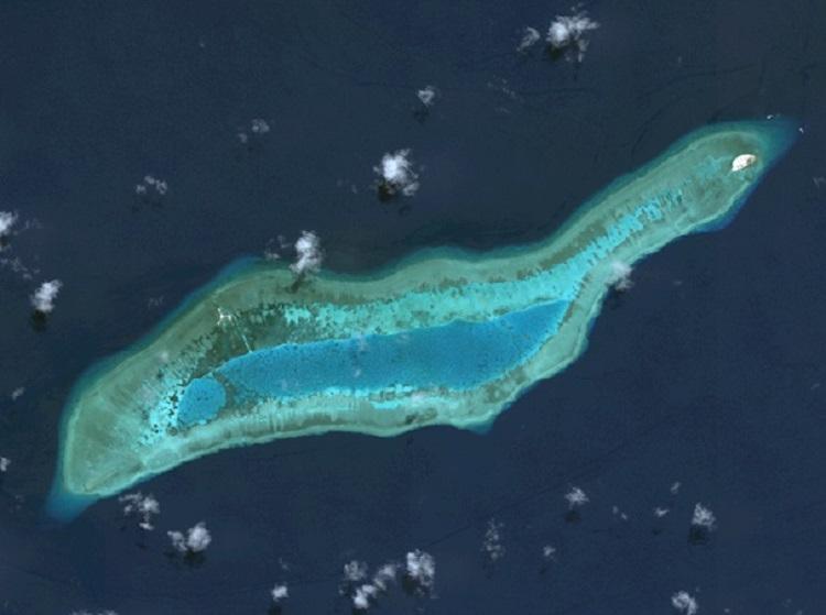 渚碧岛,毕生礁,六门礁,西月岛最新卫星图