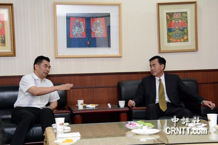 珠海台湾事务局访台南 李全教吁深化交流