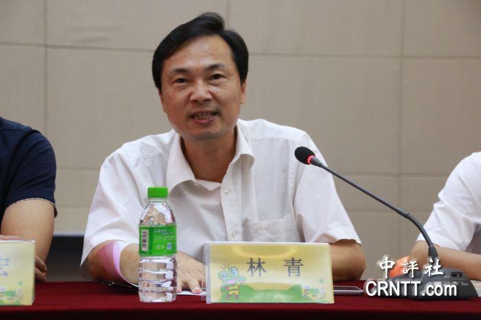 漳州市工商联副主席林青.(中评社 高映竹摄)图片
