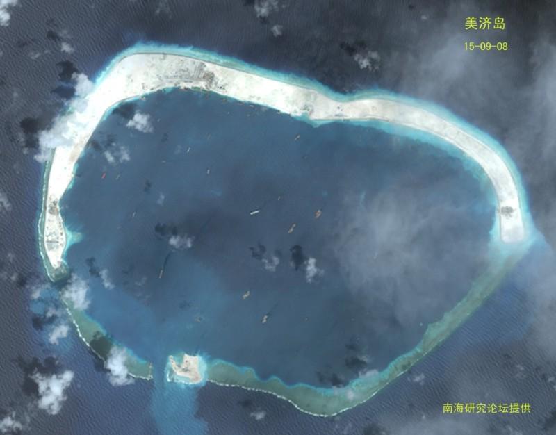 美济岛最新高清图