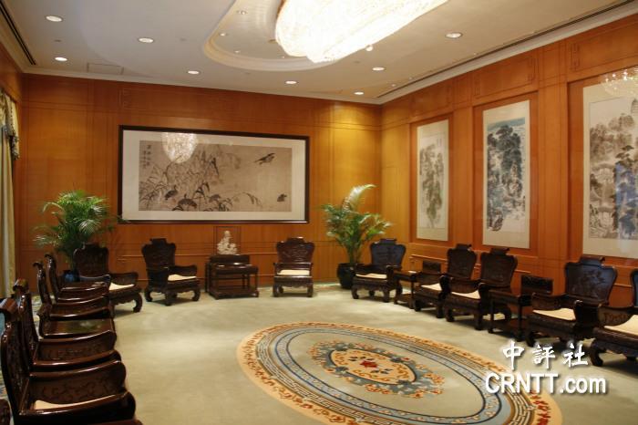 中式风格的大会客厅