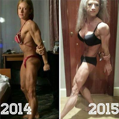 美女瘋狂健身引發急速衰老 一年老成這樣 - 亮麗 - 亮麗的博客