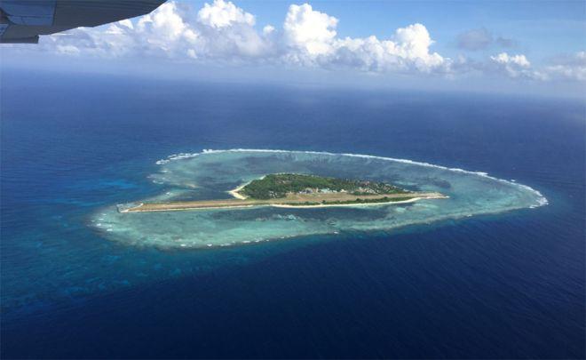 bbc航拍南海岛礁专题图片