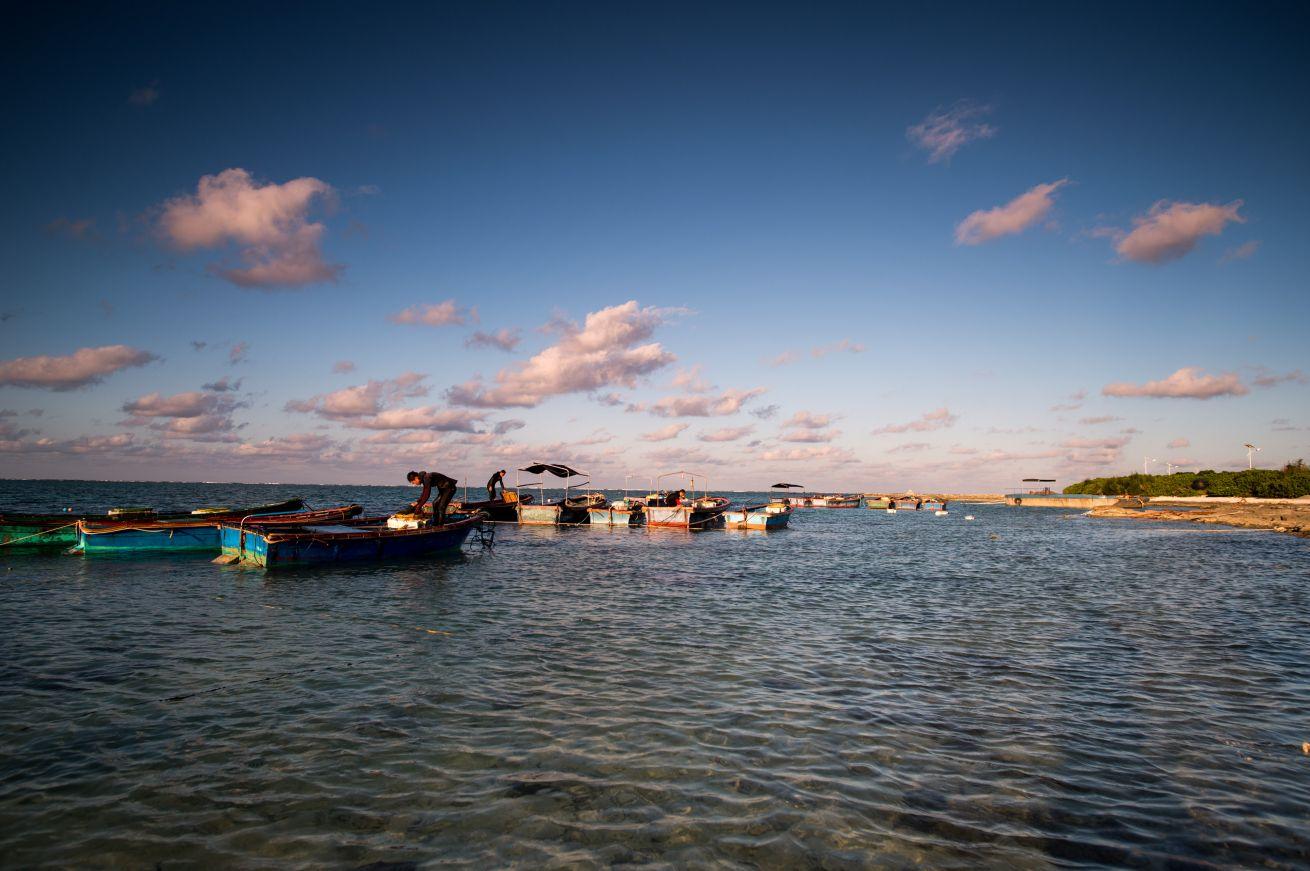 迷人的海岛,朴实的渔民,风光旖旎的日出日落,共同绘就一幅我国南海独