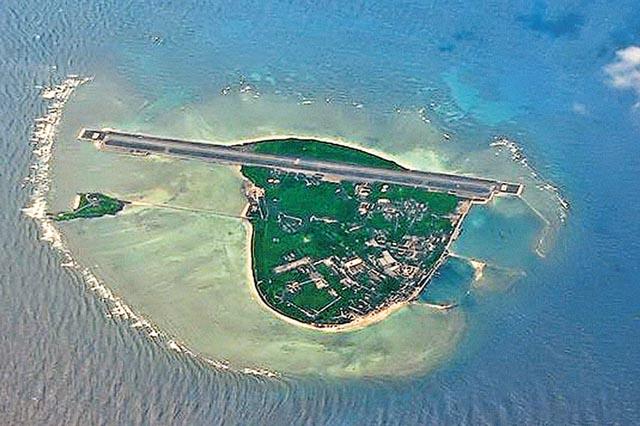 据美国媒体报道,部署在永兴岛上的导弹覆盖范围达到125英里,对於通过