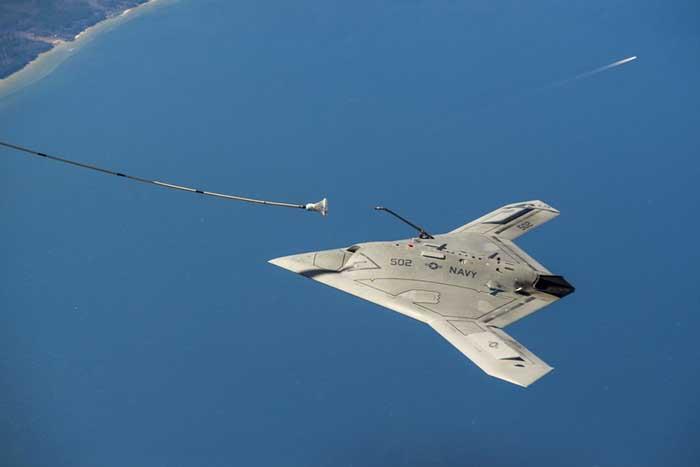 美国海军希望将uclass项目定位为远程isr平台,设想在航母舰载机联队中