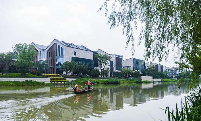 包括梦想小镇在内的杭州市余杭区未来科技城迎来了大批高新创业项目入图片