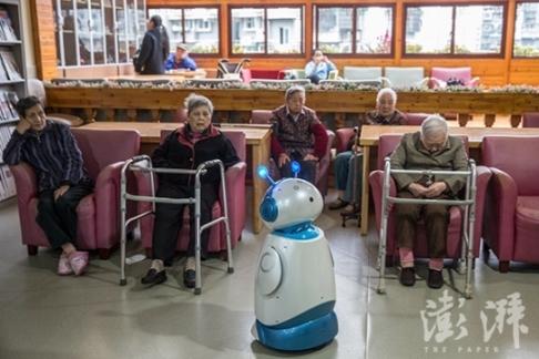 當你老了 陪伴你的可能是個機器人