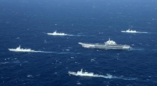 专家:中国航母编队雏形展现 发展再上大台阶
