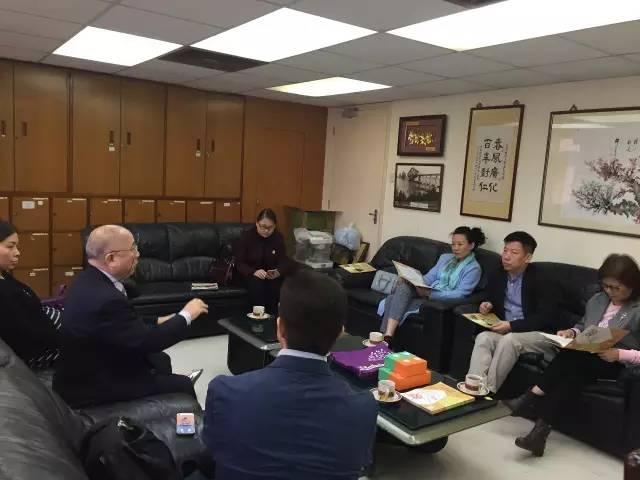 珠海市華發對外交流培訓學校應邀赴港交流