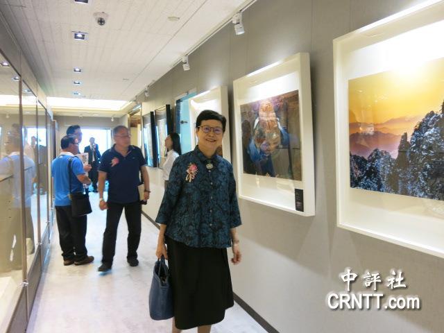 兩岸藝術交流 中華藝術館推書畫攝影展