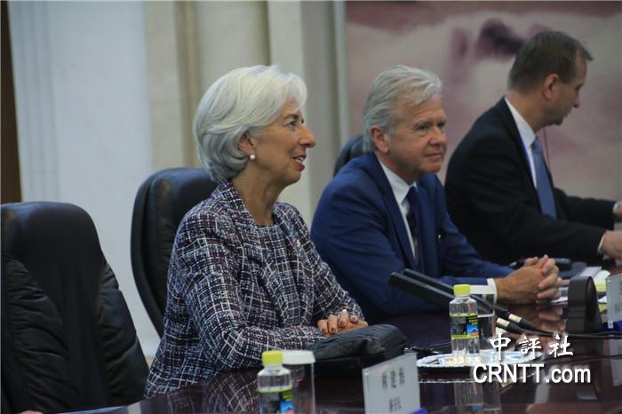 中評現場:李克強會拉加德 維護金融穩定