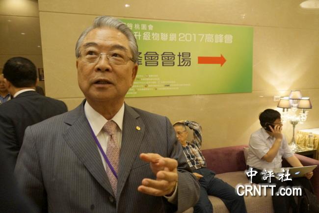 工總理事長許勝雄:一帶一路成功率很高