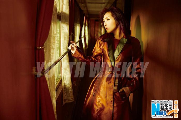 楊千嬅複古封面大片 講述一個人的旅行故事