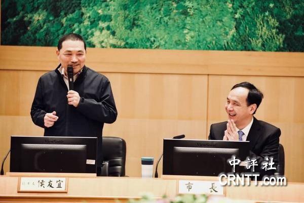 551328.com金沙:侯友宜最後市政���h 笑�Q朱立����忍�他走