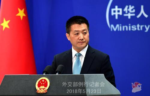 北京快乐8选一秘诀:外交部:中方希望美朝�利�e行�I��人��晤
