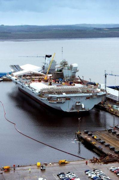 澳门电子游艺:�M度�o追中��航母:英�第二艘航母完成建造